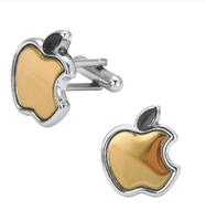 Spinki do mankietów Apple Gold