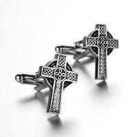 Spinki krzyż celtycki