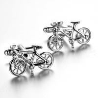 Spinki do mankietów rower wyścigowy