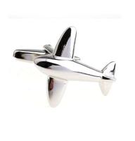Spinki do mankietów samolot