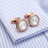 Spinki do mankietów z naturalnej perły