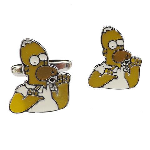 Spinki do mankietów Homer Simpson