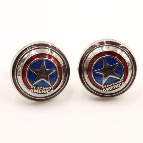 Spinki do mankietów captain America - 1
