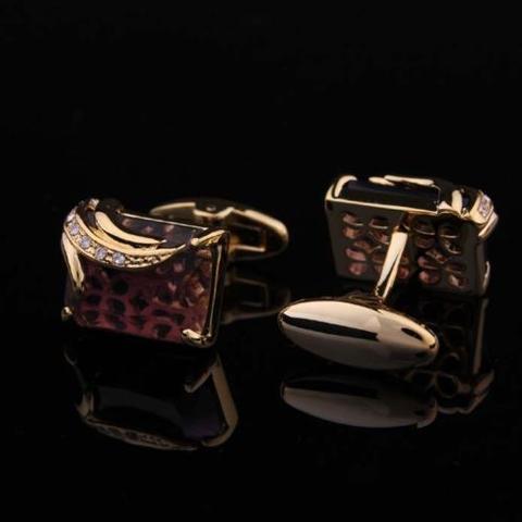 Spinki do mankietów royal purple - 1