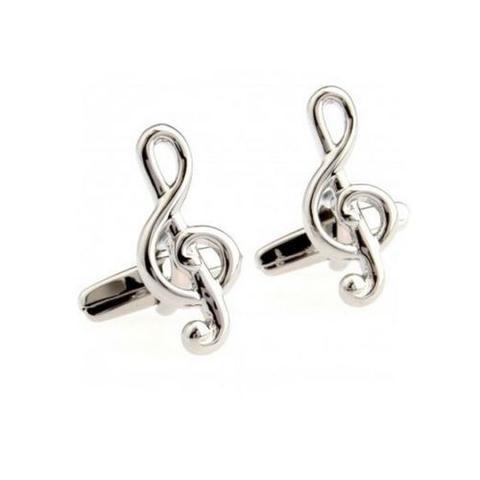 Spinki do mankietów klucz wiolinowy Strauss - 1