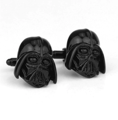 Spinki do mankietów Darth Vader Star Wars Black