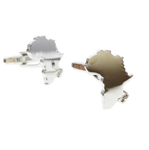 Spinki do mankietów kontynent Afryka
