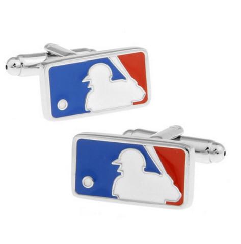 Spinki do mankietów baseballowych