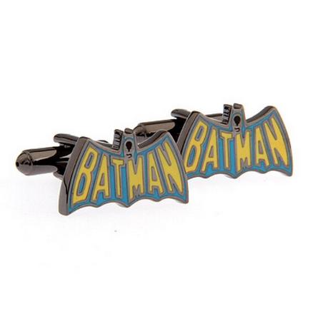 Spinki do mankietów Logo w kolorze Batman - 1