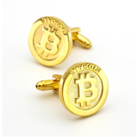 Spinki do mankietów Bitcoin - 1