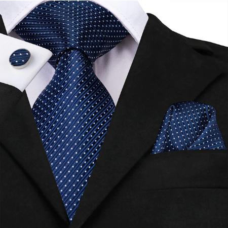 Spinki do mankietów i krawat Héra