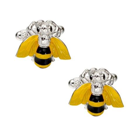Spinki do mankietów pszczoły - 1