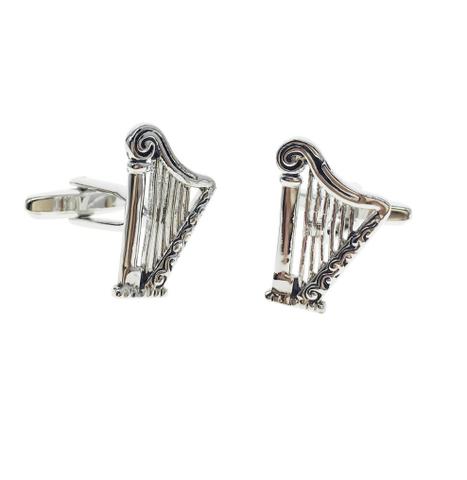 Spinki do mankietów Harfa