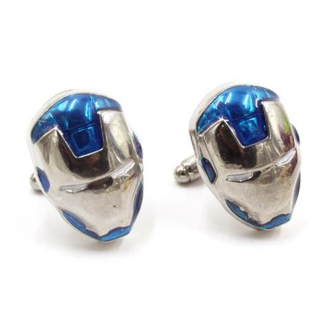 Spinki do mankietów Iron Man blue - 1