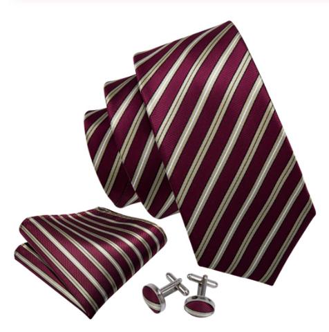 Spinki do mankietów z krawatem Peithó - 1