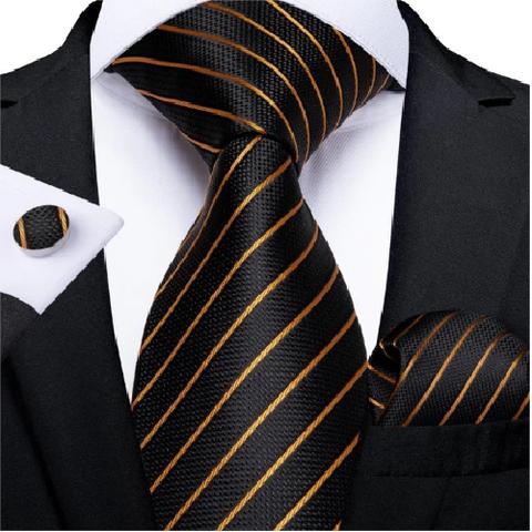 Spinki do mankietów z krawatem Theia