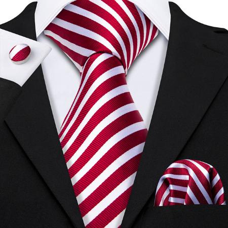 Spinki do mankietów i krawat Hermés