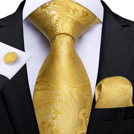 Spinki do mankietów i krawat Galateia
