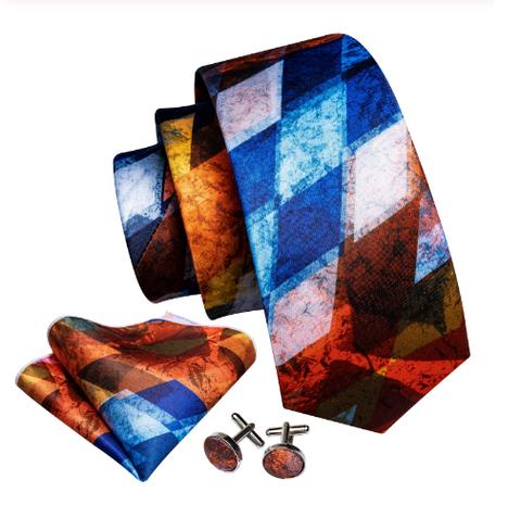 Spinki do mankietów z krawatem Plútós - 1