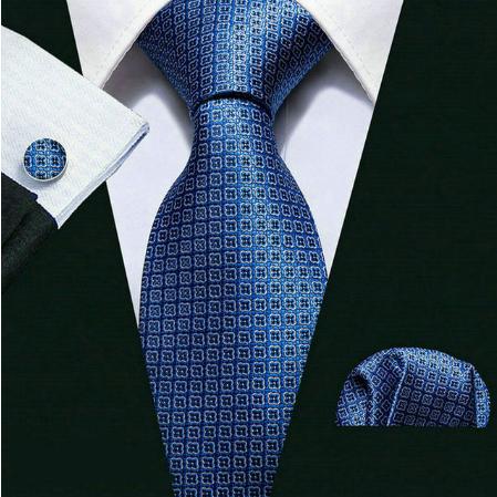 Spinki do mankietów i krawat Achelóos