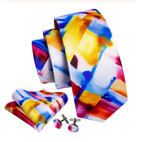 Spinki do mankietów z krawatem Muzy - 1