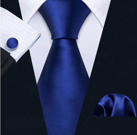 Spinki do mankietów z krawatem Inachos