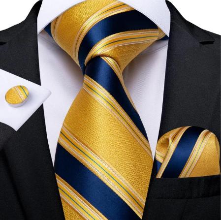 Spinki do mankietów i krawat Erinye