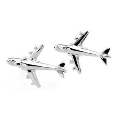 Spinki do mankietów dužy samolot - 1