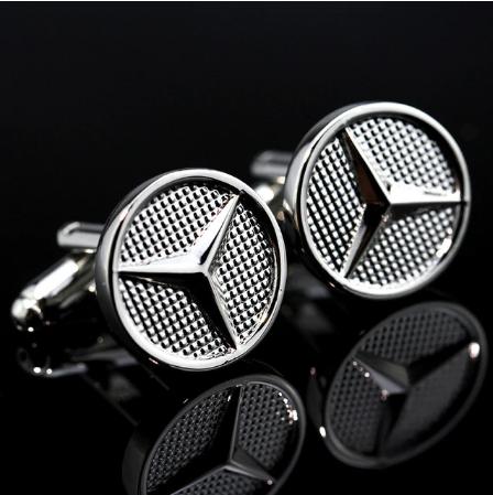 Spinki do mankietów Mercedes Benz