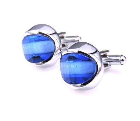 Spinki do mankietów modré oko - 1