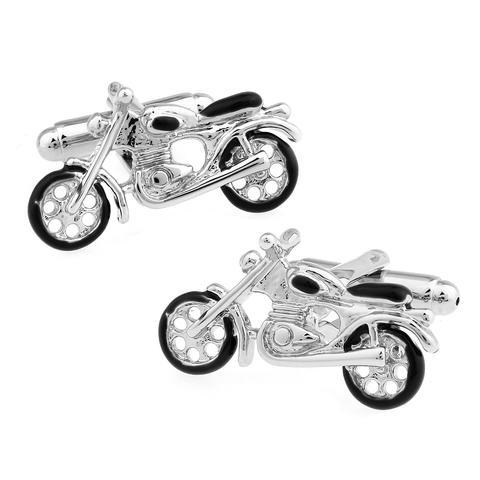 Spinki do mankietów motocykl
