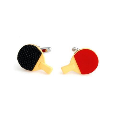 Spinki do mankietów ping pong tenis stołowy