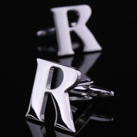 Spinki do mankietów litera R