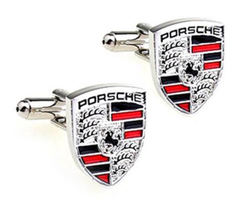 Spinki do mankietów Porsche gold
