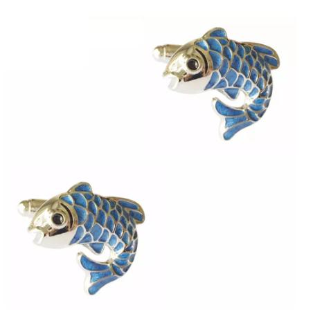 Spinki do mankietów do ryb