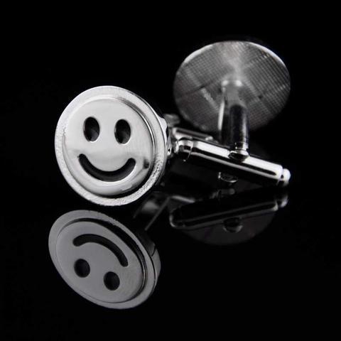 Spinki do mankietów uśmiechy