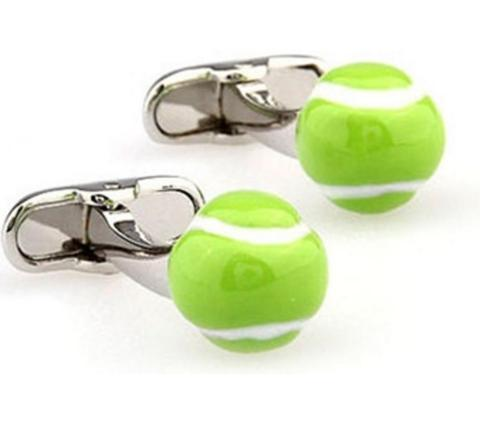 Spinki do mankietów dla tenisistów