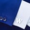 Spinki do mankietów litera W - 2/2