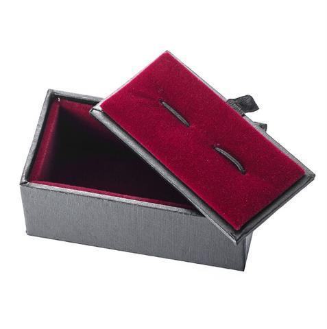 Spinki do mankietów Black Box - 2