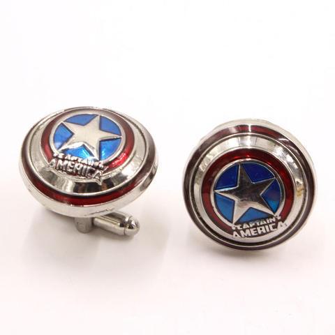 Spinki do mankietów captain America - 2