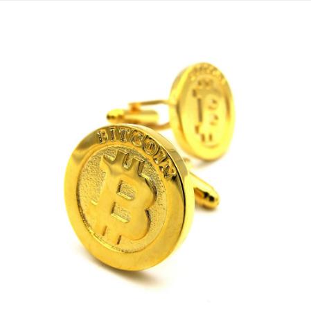 Spinki do mankietów Bitcoin - 2