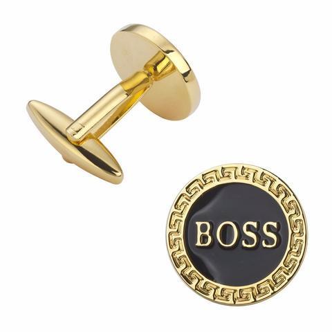 Spinki do mankietów Boss białka - 2