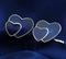 Spinki do mankietów w kształcie serca - 2/3