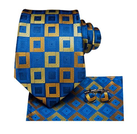 Spinki do mankietów z krawatem Nymfy - 2