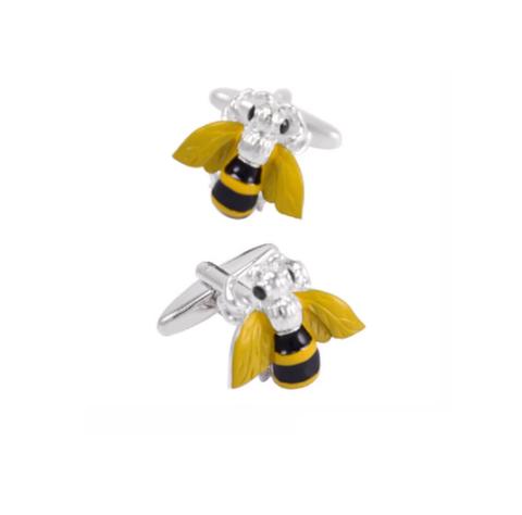 Spinki do mankietów pszczoły - 2