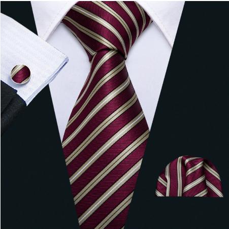 Spinki do mankietów z krawatem Peithó - 2