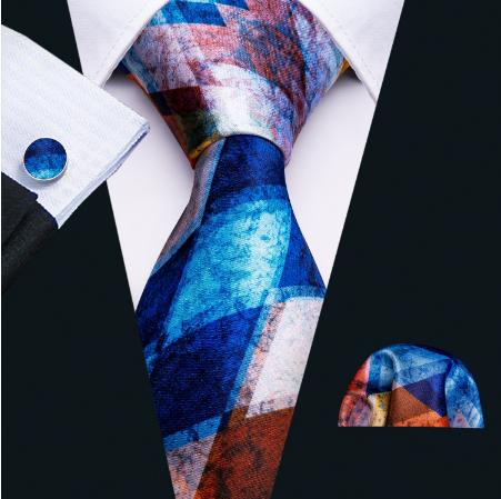 Spinki do mankietów z krawatem Plútós - 2