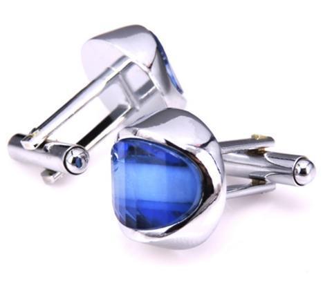 Spinki do mankietów modré oko - 2