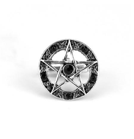 Spinki do mankietów gwiazda pentagram - 2