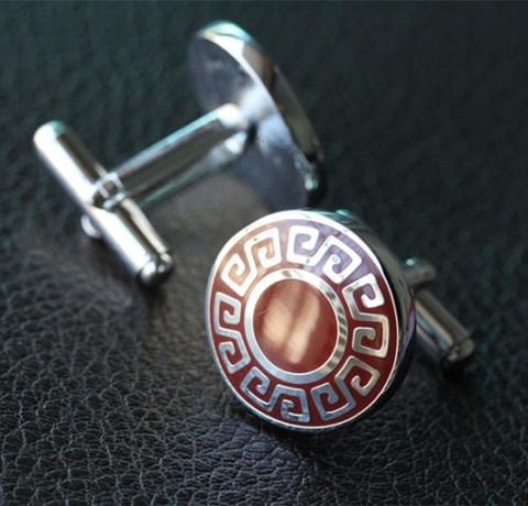 Spinki do mankietów symbole greckie - 2
